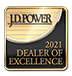 JD Power 2018 Dealer of Excellence